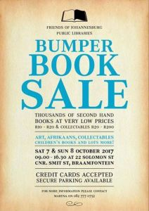 The Friends of Joburg Library Book Sale