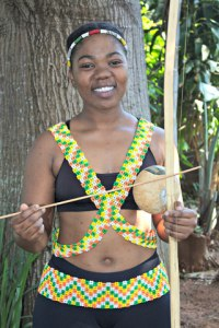SAMRO/RIESA Bursary (R20 000): Slindile Dlamini (BMus in African Music & Dance: 2nd year: – University of KwaZulu-Natal)