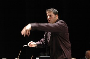 Guest conductor Daniel Boico appears on The Playhouse Opera podium during the KZN Philharmonic's 2018 Summer Season.