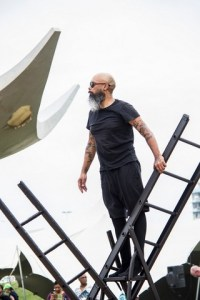 A site specific performance art piece will be staged by doung Anwar Jahangeer. Photo: Vanessa Cracknell.