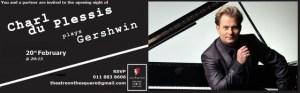 Charl du Plessis plays Gershwin