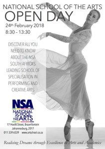 National School of the Arts OPEN DAY