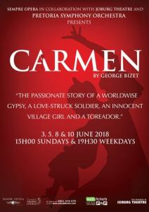 Carmen for Joburg with Sempre Opera