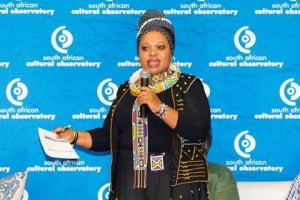 CREATIVE THINKERS: Mandlakazi Skefile, CEO of Nelson Mandela Bay Tourism, chaired a session which explored the link between tourism and the creative industries at the South African Cultural Observatory's third international conference.