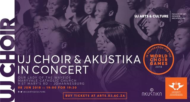 UJ Choir and Akustika in Concert