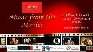 Gauteng Opera Music from the Movies