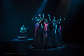 Recuerdos, featuring guitarist James Grace with dancers from Carli Spanish Dance Productions
