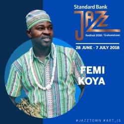 Standard Bank Jazz Festival 2018 - Femi Koya