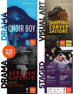 UJ Arts & Culture offerings at this year's National Arts Festival in Grahamstown.