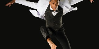 Joburg Ballet: Mahlatse Sachane in Big City, Big Dreams. Photo by Lauge Sorensen