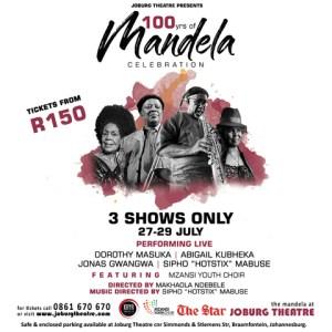 Celebrating Madiba's Centenary at Joburg Theatre
