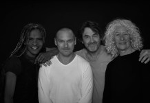 Soli Philander, Rob van Vuuren, Andrew Buckland, Antoinetter Kellerman, cast of Endgame, pic by Oscar O'Ryan