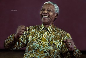 Nelson Mandela - photo by Oscar Gutierrez