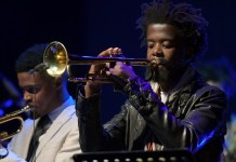 Young Masters of Jazz : Mandisi Dyantyis on Trumpet - performing on 28 Sept at 7.30pm. Cape Town - Picture Jeffrey Abrahams
