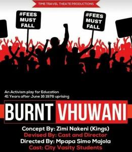 Burnt Vhuwani at Sophiatown The Mix