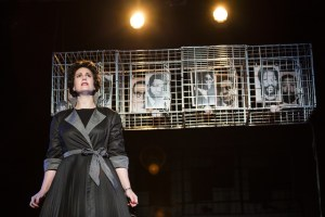 Jackie Rens stars as Ruth First in the production Ruth First: 117 Days (Photo: CuePix/Mia van der Merwe)