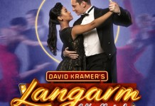 Rushney Ferguson and Cameron Botha in David Kramer's LANGARM