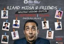 Riaad Moosa & Friends Heritage Weekend Edition