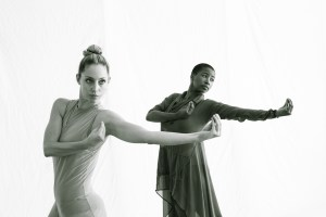 Julia Burnham and Kristin Wilson in NOTED (Photographer: Rob Mills)