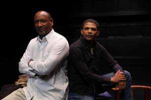 Zane Meas and Christo Davids director of Van Wyk the Storyteller of Riverlea.
