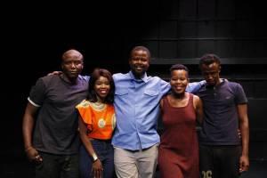 NAILED starring Khulu Skenjana, Aya Mpama, Katlego Letsholonyane, Zesuliwe Hadebe and Lunga Khuhlane.