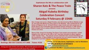 Abigail Kubeka's birthday concert celebration