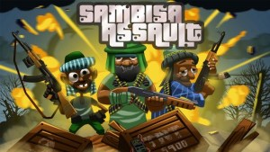 ChopUp's Sambisa Assault - a simple but addictive whack-a-mole type game that raises funds to support the victims of terrorism,