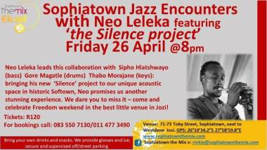 Sophiatown Jazz Encounters celebrates Freedom Day
