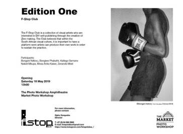 Edition One F-Stop Club exhibition