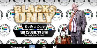Blacks Only Comedy Truth or Dare for PE in June