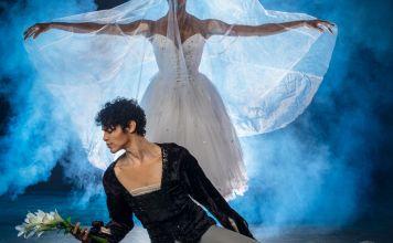 Joburg Ballet: Claudia Monja as Giselle and Leusson Muniz as Count Albrecht. Photo by Lauge Sorensen