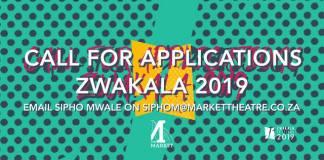 Market Theatre: Zwakala festival applications