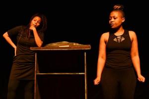 No Easter Sunday for Queers starring Tshego Khutsoane and MoMo Matsunyane. (Photographer: Lungelo Mbulwana)