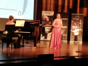 SAMRO Overseas Scholarships Competition 2019 winner Palesa Malieloa accompanied by Elna van der Merwe on piano