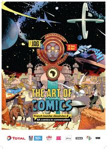 The Art of Comics Flyer