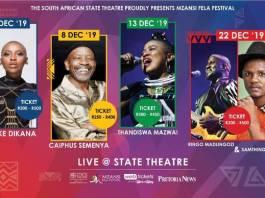 12th Mzansi Fela Festival line-up jampacked