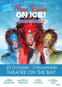 Mark Banks On Ice Poster