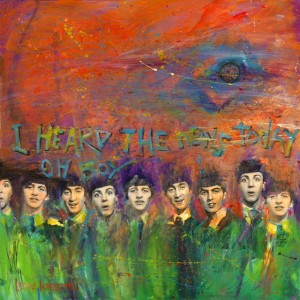 Beatles In My Life - News Painting