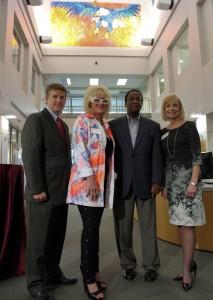 Chris, Leoma, Dr. Bradshaw and Robbie 4
