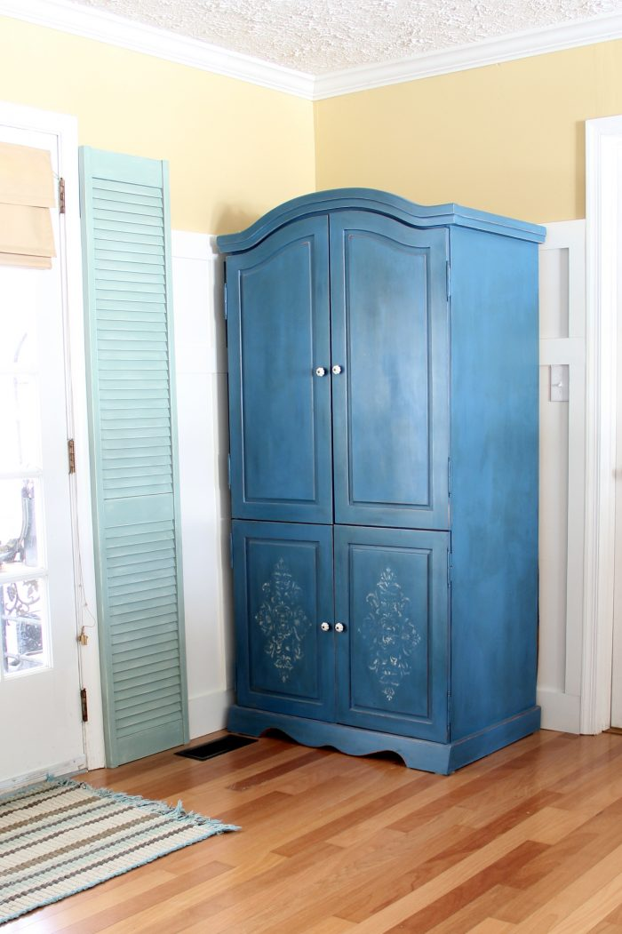 armoire transformed twice finishing