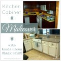 Kitchen before and after annie sloan chalk paint artsychicksrule com