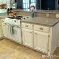 Kitchenmakeover kitchenkitchen cabinet makeover w chalk paint end