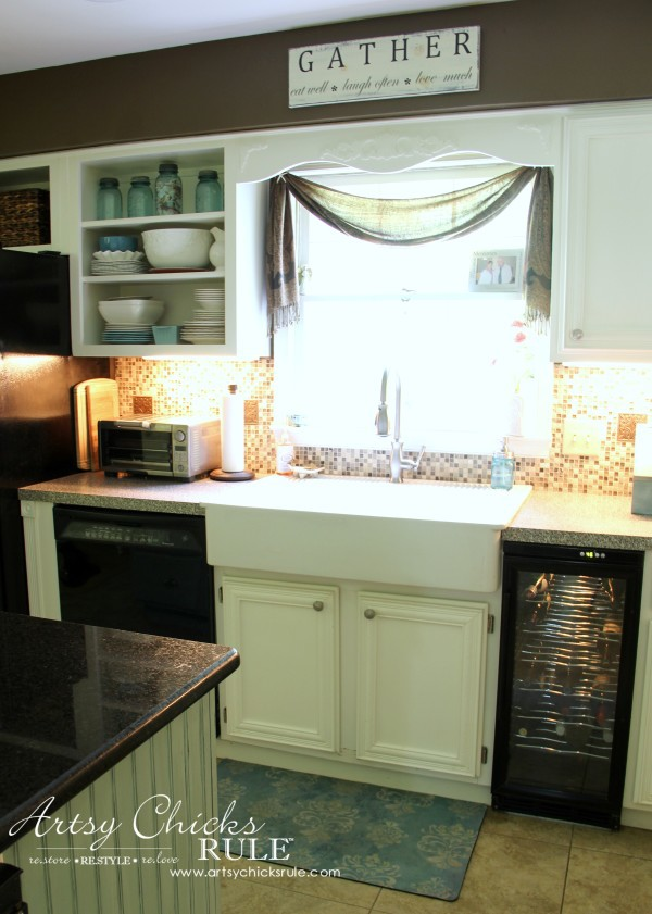 kitchen cabinet makeovers upgrade ideas makeover annie sloan chalk paint artsy chicks rule with artsychicksrule com kitchencabinetmakeover chalkpaint