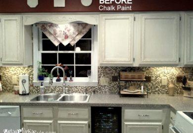 Best Chalk Paint Color For Kitchen Cabinets