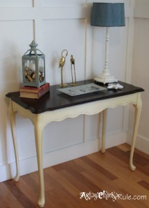 Update Wood Stained Furniture - Easily & Quickly