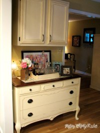 Antique Dresser Makeover {Stripped, Restained & Repainted ...