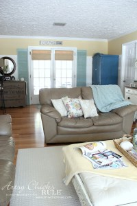 Family Room Makeover (Before & After) - Artsy Chicks Rule