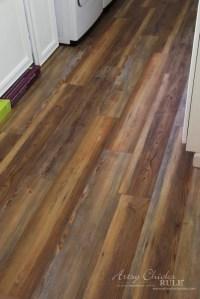 Farmhouse Vinyl Plank Flooring (One Room Challenge, Week 5 ...
