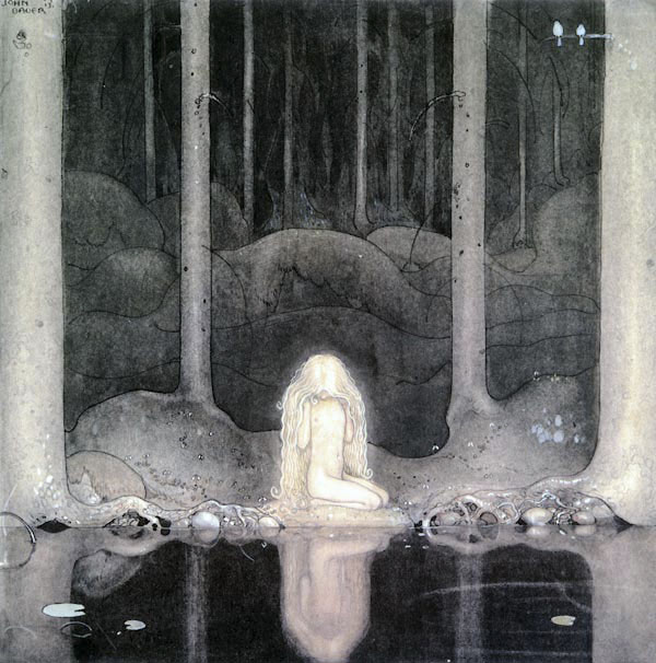 Princess Tuvstarr by John Bauer