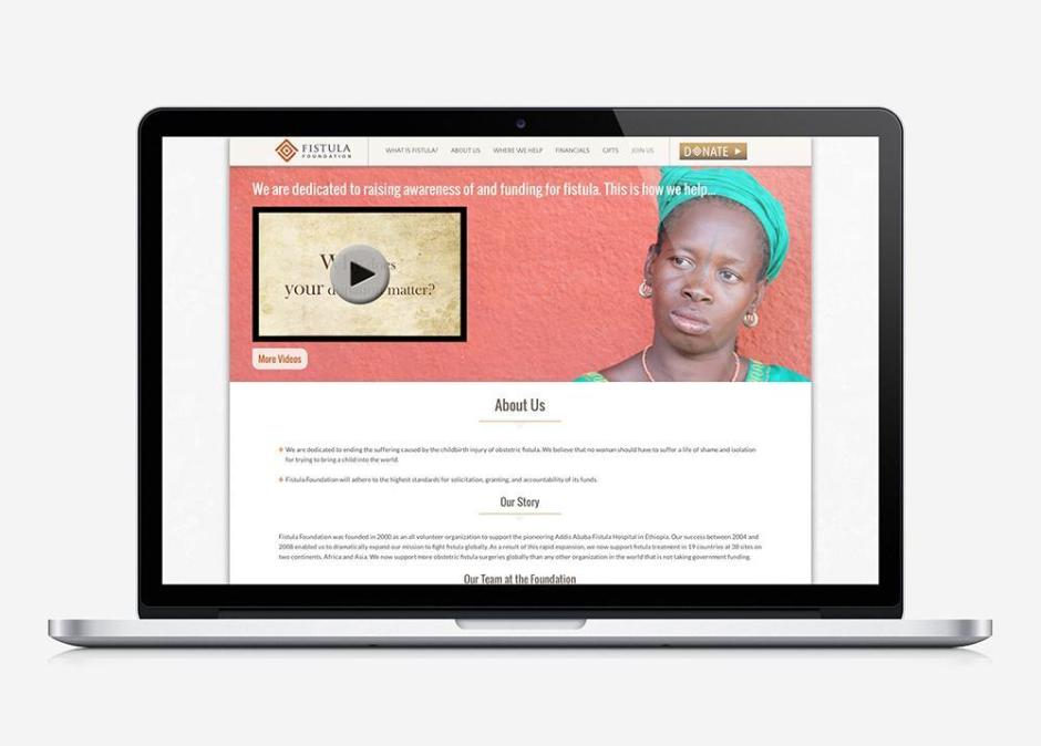 Fistula Foundation UI Design